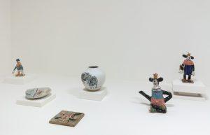 <i>Artifices Instables, Histoires de Céramiques</i>, 2020 </br> installation view, NMNM, Villa Sauber, Monaco