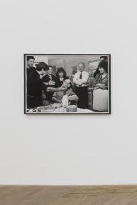 <I>Chetrit Family</I>, 1995/2020 </br> silver gelatin print, 83,8 x 121,9 x 4 cm / 33 x 48 x 1.6 in