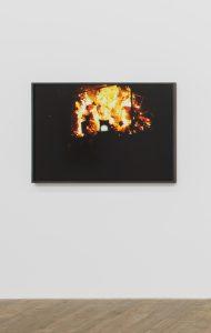 <I>Fire / Carnival</I>, 2020 </br> inkjet print, 86,4 x 123,7 x 4 cm / 34 x 48.7 x 1.6 in