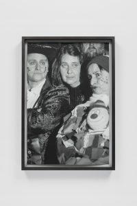 <I>Three Faces</I>, 2020 </br> silver gelatin print, 71,1 x 48,8 x 4 cm / 28 x 19.2 x 1.6 in