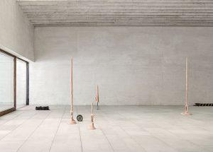installation view, 57th Venice Biennale, Nordic Pavilion, Venice, 2017