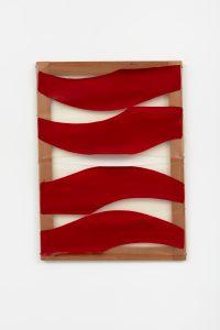 Carla Accardi, <I>#668</I>, 1975 </br> acrylic on sicofoil, 54 x 75 cm / 21.5 x 29.5 in