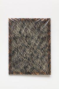 Carla Accardi, <I>Segni neri</I>, 1967 </br> acrylic on sicofoil, 120 x 90 cm / 47.2 35.4 in