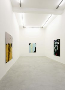 <I>blow ups</I>, 2020 </br> installation view, kaufmann repetto, milan
