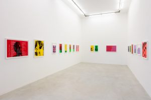 <I>to the everyday miracle</I>, 2021 </br> installation view, kaufmann repetto, milan