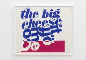 <I>come off it</I>, 1966 </br> screenprint</br> 83,5 x 99,5 x 4 cm / 32.9 x 39.2 x 1.6 in (framed)