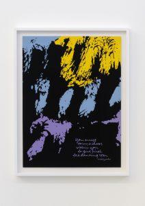 <I>dancing star '82</I>, 1982 </br> screenprint</br> 68,8 x 53 x 4 cm / 27 x 20.8 x 1.5 in (framed)