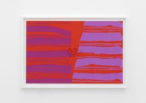 <I>welcome o life</I>, 1973 </br> screenprint</br> 63,5 x 93,7 x 4 cm / 25 x 36.8 x 1.5 in (framed)