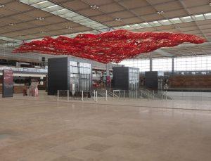 <I>The Magic Carpet</i>, 2011 </br> installation view, Berlin Brandenburg Airport