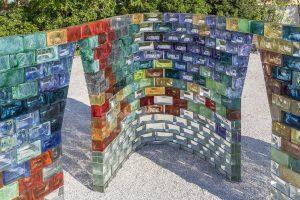 <I>pae white</i>, 2017 </br> installation view, fondazione cini - le stanze del vetro