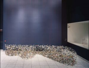 <I>hammer projects: pae white</i>, 2004 </br> installation view, Hammer Museum, Los Angeles
