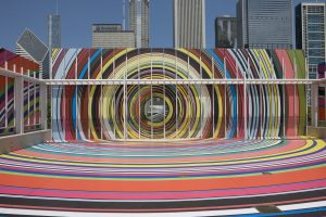 <I>Restless Rainbow</i>, 2011 </br> installation view, The Art Institute of Chicago