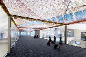 <I>ΣLAX</i>, 2015 </br> installation view, Tom Bradley International Terminal  LAX