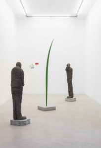 <I>GROW</i>, 2021 </br> installation view, kaufmann repetto Milan