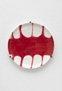 <I>Utitled</I>, 2021 </br> glazed ceramic</br> Ø 20,5 cm / 8 in