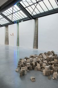 <I>Inhabited by Objects</i>, 2016 </br> installation view, CAB Art Center, Brussels
