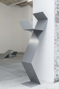 <I>Judith Hopf, Stepping Stairs</i>, 2018 </br> installation view, KW Institute for Contemporary Art, Berlin