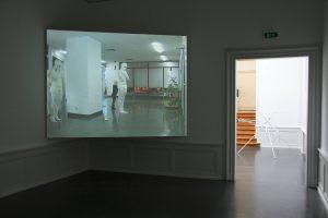 <I>Nose up!</i>, 2008 </br> installation view, Badischer-Kunstverein, Karlsruhe