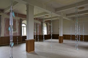 <I>Bamboo Forest</i>, 2012 </br> installation view, dOCUMENTA 13, Britenau Memorial, Guxhagen, Kassel