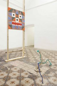 <I>From Down, From up & In Between</i>, 2013 </br> installation view, Fondazione Morra Greco