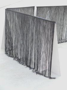 <I>A Line May Lie</i>, 2013 </br> installation view, Kunsthalle Lingen