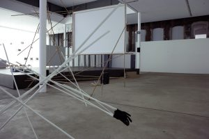 <I>No Matter How Bright the Light, the Crossing Occurs at Night</i>, 2006 </br> installation view, KW Institute for Contemporary Arts, Berlin