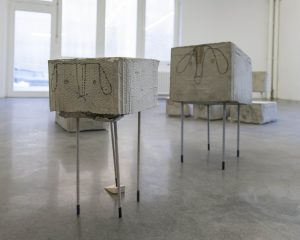 <I>untitled (1)</i>, 2014 </br> installation view, PRAXES Center for Contemporary Art, Berlin