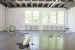 <I>untitled (4)</i>, 2014 </br> installation view, PRAXES Center for Contemporary Art, Berlin