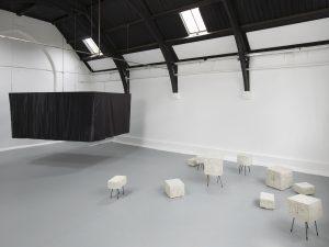 <I>Judith Hopf: Testing Time</i>, 2013 </br> installation view, Studio Voltaire, London