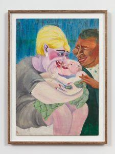 <I>Alegría, Alegría</I>, 1976 </br> acrylic on cardboard</br> 77 x 58 cm / 30.3 x 22.8 in (framed)