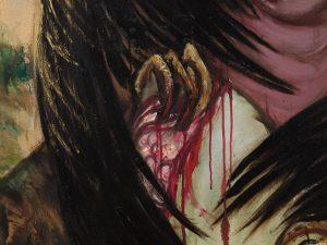 <I>Erinia (el misterio del arte) (Erinyes (the mystery of Art)</I>, 2003 </br> (detail)