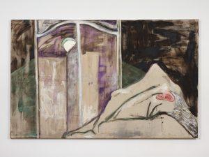 <I>Luciérnaga Furiosa (Raging Firefly)</I>, 2000 </br> mixed media on canvas</br> 250 x 140 cm / 98.4 x 55.1 in