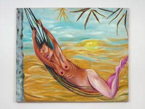 <I>Ensueño (Daydream)</I>, 1992 </br> oil on canvas</br> 150 x 180 cm / 59 x 70.8 in