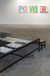 <I>We have no art, we do everything as well as we can</i>, 2018 </br> Passerelle Centre d'art contemporain, Brest