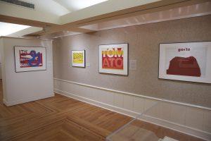 <I>Corita Kent - Spiritual Pop</i>, 2016 </br> installation view, Portland Art Museum, Portland