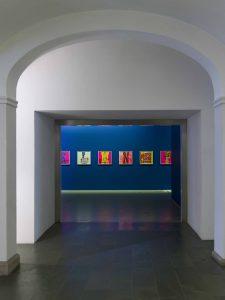 <I>Corita Kent___Joyful Revolutionary</i>, 2020 </br> installation view, Taxispalais Kunsthalle Tirol, Innsbruck