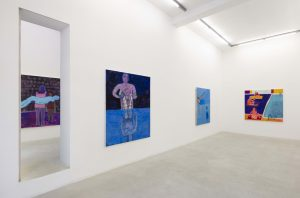 <I>Lifeguards</i>, 2021 </br> installation view, kaufmann repetto Milan