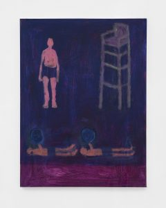 <I>Lifeguard Responds</I>, 2021 </br> acrylic on canvas</br> 101,6 x 76,2 cm / 40 x 30 in
