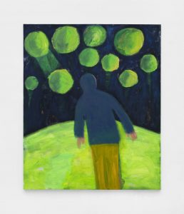<I>Sighting Green Planets</I>, 2021 </br> acrylic on canvas</br> 182,2 x 152,4 cm / 72 x 60 in