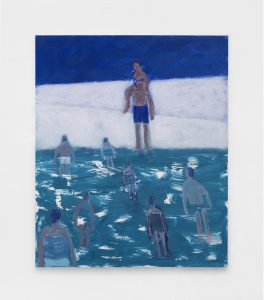<I>Lifeguard Rescue</I>, 2021 </br> acrylic on canvas</br> 182,8 x 152,4 cm / 72 x 60 in