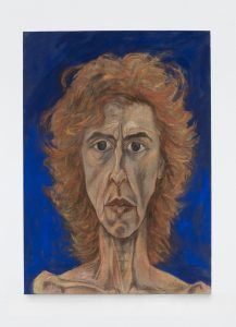 <I>De cara al futuro</I>, 2010 </br> oil on canvas</br> 143 x 103 cm / 56.3 x 40.6 in