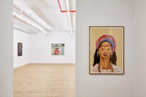 marcia schvartz, <I>works, 1976 – 2018</I>, 2021 </br> installation view, 55 walker, new york