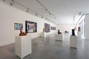 <I>Simone Fattal</i>, 2016 </br> installation view, SAF Art Spaces
