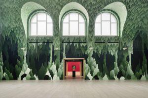 <I>Stage Fright</i>, 2021 </br> installation view, Kestner Gesellschaft