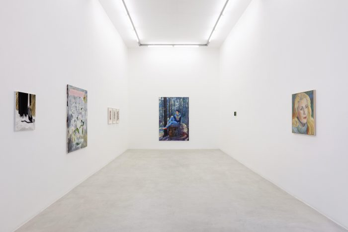 <I>an ego of her own</i>, 2021 </br> installation view, kaufmann repetto Milan