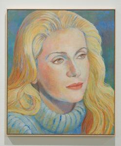 Birgit Megerle, <I>Wool</I>, 2019 </br> oil on canvas</br> 70 x 60 cm / 27.5 x 23.6 in