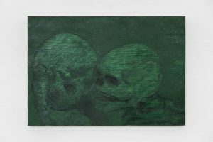 Brook Hsu, <I>Untitled</I>, 2021 </br> oil on wood</br> 14 x 20,3 cm / 5.5 x 8 in