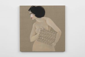 Hayv Kahraman, <I>The Appeal 10</I>, 2018 </br> oil on linen</br> 88,9 x 88,9 cm / 35 x 35 in