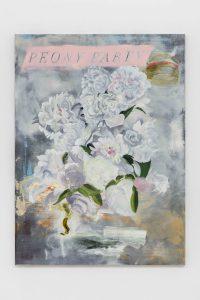 Jeannette Mundt, <I>Poppy Party</I>, 2021 </br> oil on linen</br> 132,1 x 96,5 cm / 52 x 38 in