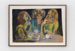 Marcia Schvartz, <I>Bar</I>, 1976 </br> acrylic on cardboard</br> 53,5 x 75,5 x 4 cm / 21.1 x 29.7 x 1.6 in